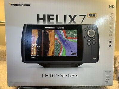 Humminbird Helix 7 Chirp Si Gps G2 W Ram Mount And Rubber Cover In 2020 Humminbird Gps Ram