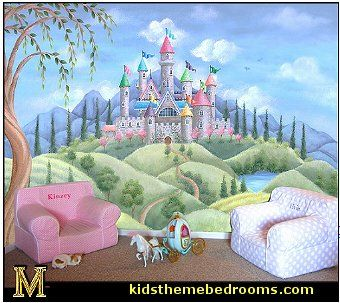 Castle Canopy Pre Pasted Value Wall Mural | Wall Murals, Castles And Walls Part 25