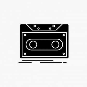 Cassette Demo Record Tape Record Glyph Icon Vector Isolated Icons Converter Icons Fitness Icons Maker Png And Vector With Transparent Background For Free Do Glyph Icon Blue Logo Design Design Tape