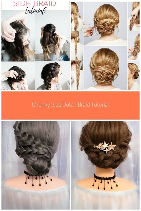 An Easy And Quick Chunky Dutch Braid Tutorial Here S How To