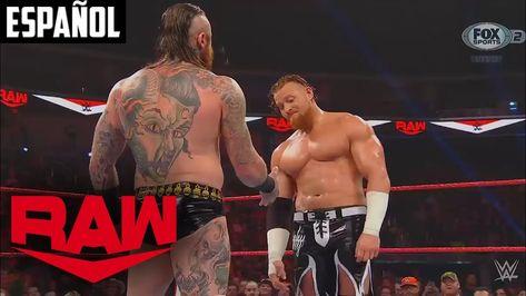 "Aleister Black le realiza un ""Black Mass"" a Buddy Murphy: WWE Raw | Español Latino"