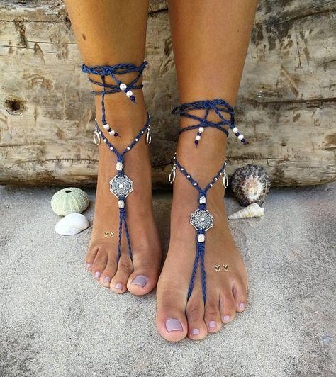 Foot Jewelry for Women Teen Girls Great Foot BraceletWater Ripple Chain Women Anklet Bracelet Sandal Beach Foot Jewelry