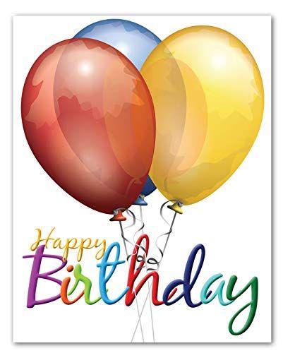 Jumbo Extra Large Happy Birthday Greeting Card Blank On The Inside Happy Birthday Greeting Card Birthday Greeting Cards Happy Birthday Greetings