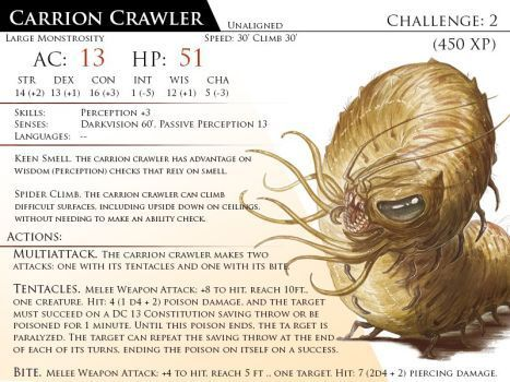 Carrion Crawler By Almega 3 Carrion Crawler Dungeons And