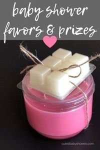 candle for baby shower prizes