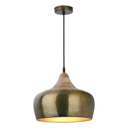 Ceiling Pendant Light In Aged Gold