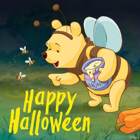 Happy Halloween Pooh Halloween Ideen Gute Nacht Guten