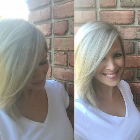 At Home Blonde Hair Color Drugstore Brand Blonde Color Dyed
