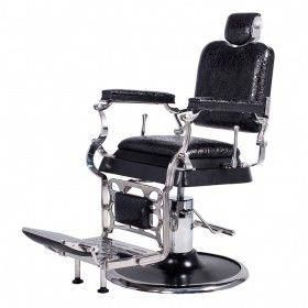Regent Barbershop Chair In Patent Black Crocodile By Ags Beauty Salonchairsforsale Barber Chair For Sale Barber Chair Chair Style
