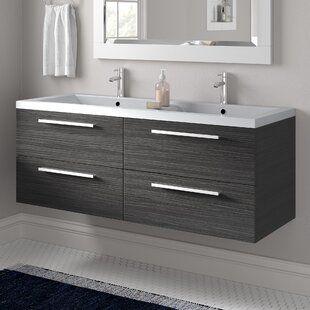 Vanity Units Bathroom Units Sink Cabinets Wayfair Co Uk Wall Mounted Vanity Basin Vanity Unit Sink Vanity Unit