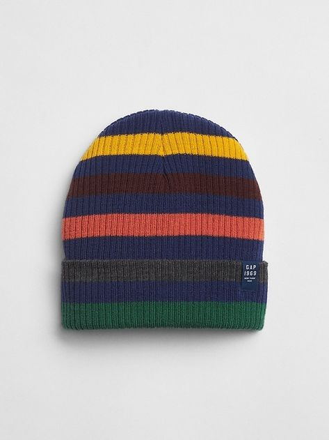 026e15e60567ad Stripe Beanie | Products | Beanie, Boys accessories, Toddler outfits