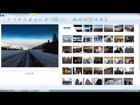 Windows Live Movie Maker 2011 Youtube Part 2 Of 3 What To Do With All Those Pictures Videos Windows Movie Maker Picture Video Still Picture