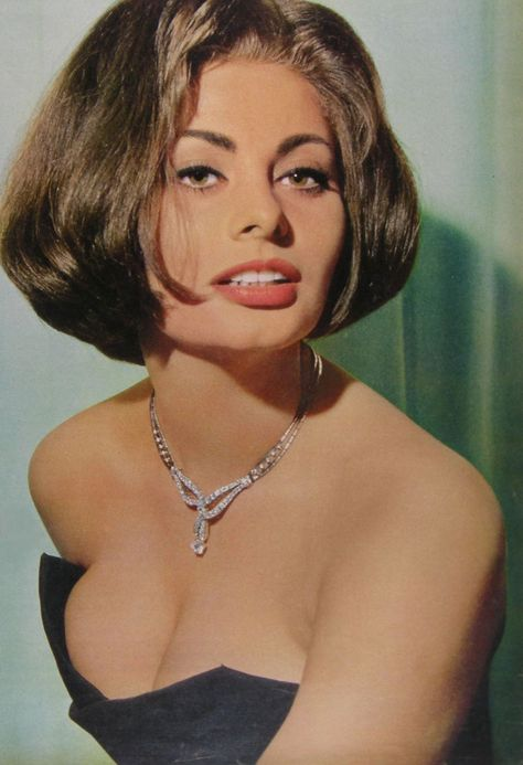 Sophia Loren - I was born in the wrong era :) These vintage divas are unmatched and they have that eternal beauty which overflows sexappeal, charisma, class and elegance.