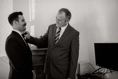 downtown mount clemens groomsmen groom bridal getting ready father bowties party wedding photography michigan urban