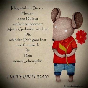 Geburtstagssprüche whatsapp lustige 39 Lustige
