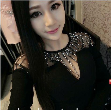 Perlas Sexy vestido del remiendo tendencia de la personalidad dulce mujeres de la cadera delgada apretada, envío gratis(China (Mainland))