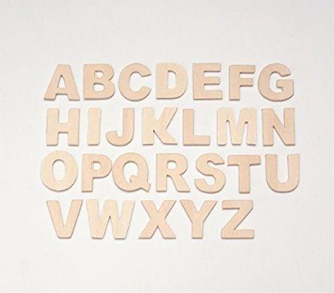 Glorex Set De Lettres En Bois Lettres A Z Tailles 25 Https