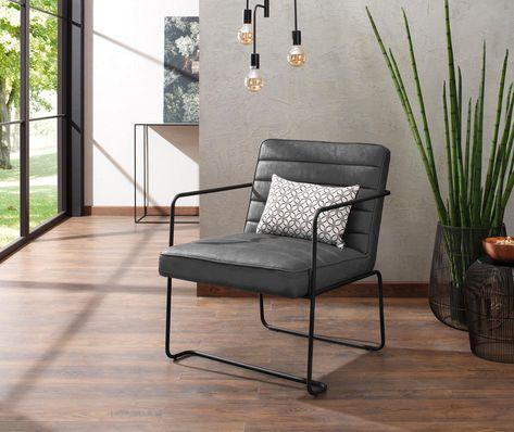 Loungechair Sessel Alabama Leder Relaxsessel Fernsehsessel