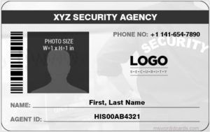 Designing Your Own Id Card Badge With Ms Word Microsoft Word Id Card Templates Id Card Template Treatment Plan Template Card Templates
