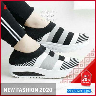 Mrtt197s51 Sepatu Wanita Slip On Kiara Keren In 2020 Slip On