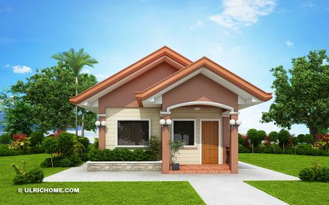 Small And Simple House Design With Two Bedrooms
