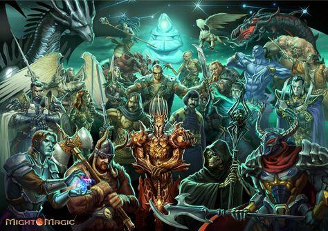 video game might magic heroes vi wallpaper might and magic fantasia rh ar pinterest com