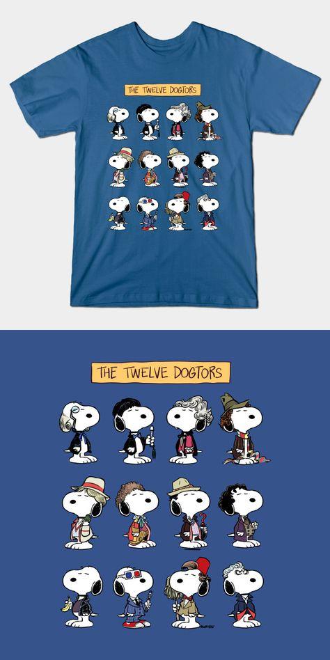 Who TV series Long Sleeve Tee David Tennant Is My Doctor tardis T-shirt Dr