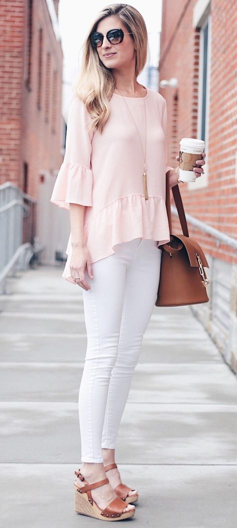 Pink Summer Outfits An Instagram Round up via