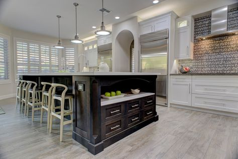 #Mosaic #Monday features an awesome installation of our Unique Ode and Woodwork Hillsboro out of Scottsdale, Arizona!  #mondaymotivation #scottsdale #arizona #unique #ode #woodwork #AZ #woodlook #tile #tiles #flooring #kitchen #homedecor #interiordesign #diy #Design #emsertile
