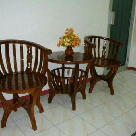 saya menjual kursi teras mangkuk kursi teras kayu jati