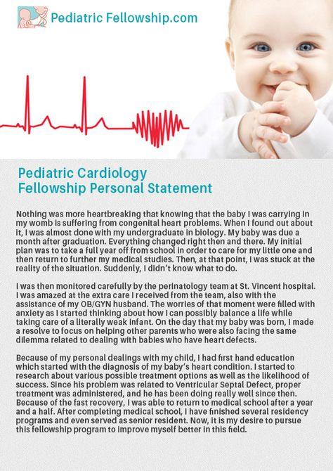 Internal Medicine Residency Personal Statement Sample