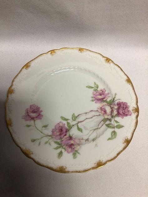 """Haviland France Schlieger #1 7 1//2/"""" Salad Plate"""