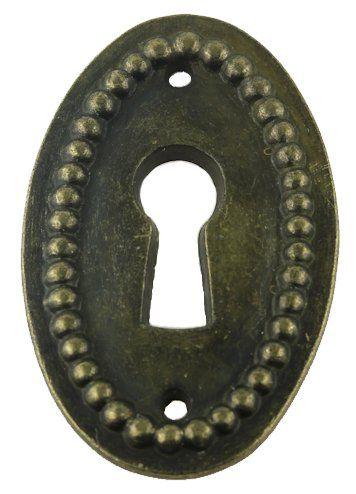 Antique Key Ornate Cast Brass Key Polished Skeleton Antique Furniture Key
