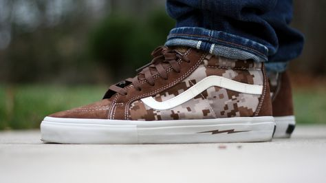 Sweetsoles – Defcon x Vans Syndicate Sk8-Hi Notchback  Digital ... 749495154