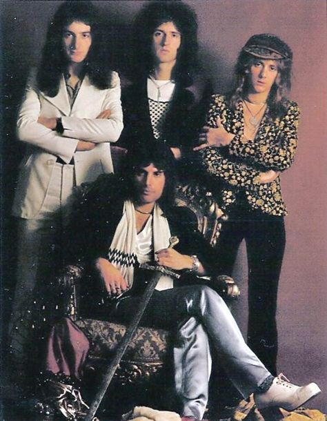 One of the hardest things for me to think of is that I'll never see Queen live, with the original line up.. Mercury, May, Taylor, and Deacon. It devastates me, honestly.
