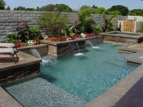 small rectangular pools - Bing Images