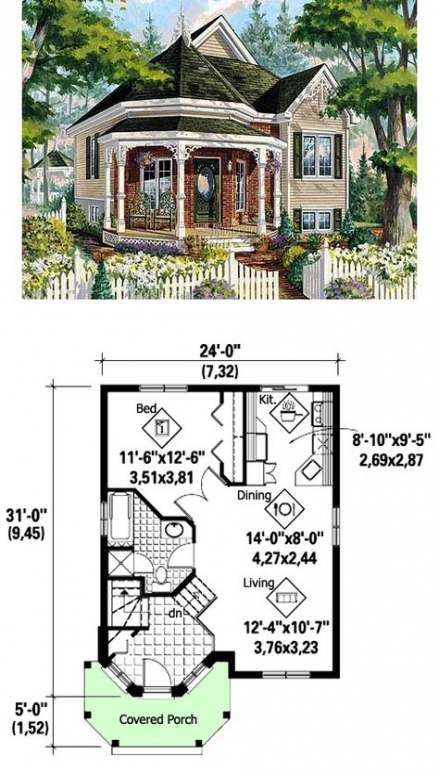 House Victorian Plans Small 54 Best Ideas Victorian House Plans Sims House Plans Cottage Plan