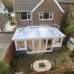 Glass Roof Consrvatory Consrvatory Glass Roof Glass Roof Conservatory Prices Ziptrak Blinds