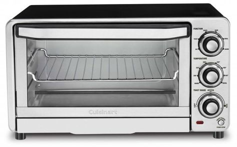 Cuisinart Stainless Steel Custom Classic Toaster Oven Broiler In 2020 Stainless Steel Oven Countertop Oven Toaster