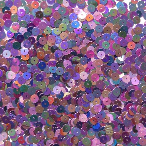 Made in USA 6mm Cup Sequins Black Rainbow Iris Shiny Opaque