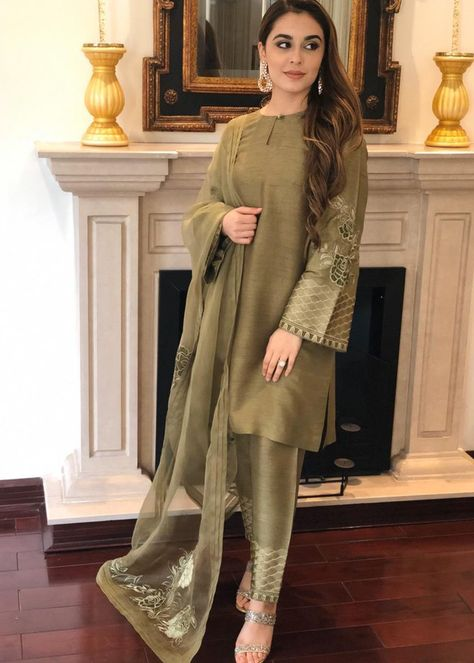 Silk Dress Designs : dress, designs, Organza, Shirts, Ideas, Pakistani, Dresses,, Fashion,, Fashion