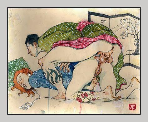 Erotic art anal