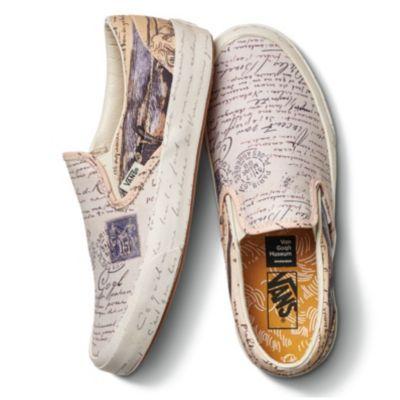 Vans X Vincent Van Gogh Authentic Shop At Vans Slip On Sneakers Vans Slip On Custom Vans Shoes
