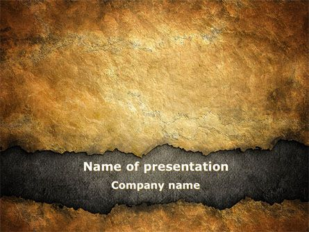 Free Old Parchment Powerpoint Template Old Parchment Powerpoint
