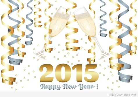 Happy new year party 2015 sms wishes | new years | Pinterest