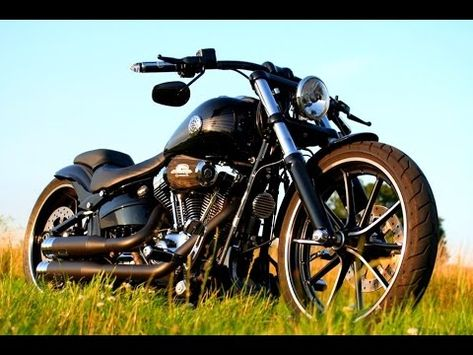 763353e3c5ecd Harley Davidson Breakout Custom FXSB Softail Umbau - YouTube