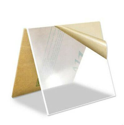 Clear Perspex Acrylic Sheet Plate Pmma Panel 200 X 200 To 500mm Thick 0 8 10mm In 2020 Acrylic Sheets Clear Perspex Metal Working Tools