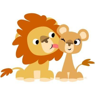 Dibujos De Leones Para Imprimir Gratis Cartoon Lion Lion Couple