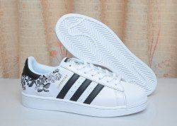 adidas Superstar Flower Embroidery Women Shoes (CG6407