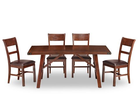 Dining Tables Paladin 5 Pc Group Classic With A Stylish Edge